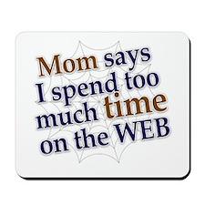 on the web Mousepad