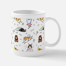 Pomeranian Pattern Mug