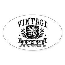Vintage 1943 Decal