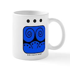 BLUE Electric NIGHT Mug