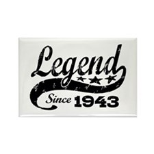 Legend Since 1943 Rectangle Magnet