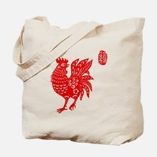 Asian Rooster - Tote Bag