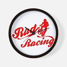 Rad Racing Wall Clock