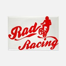 Rad Racing Rectangle Magnet