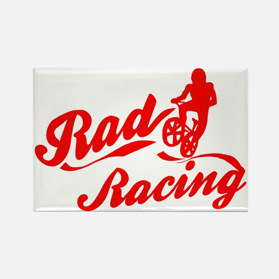 Rad Racing Rectangle Magnet