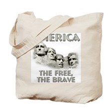 America - The Free, The Brave Tote Bag