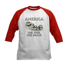 America - The Free, The Brave Tee