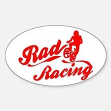 Rad Racing Oval Decal