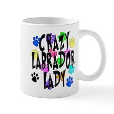 Crazy Labrador Lady Mug