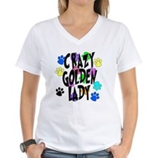 Crazy Golden Lady Shirt