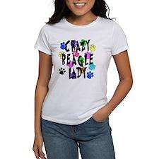 Crazy Beagle Lady Tee