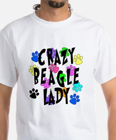 Crazy Beagle Lady Shirt