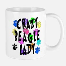 Crazy Beagle Lady Mug