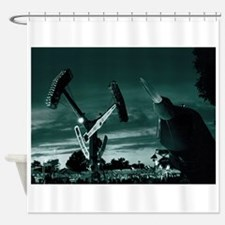 092908-3 A CARNIVAL ON MARS Shower Curtain