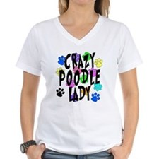 Crazy Poodle Lady Shirt