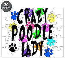 Crazy Poodle Lady Puzzle