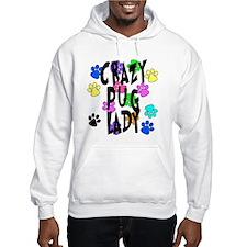 Crazy Pug Lady Hoodie
