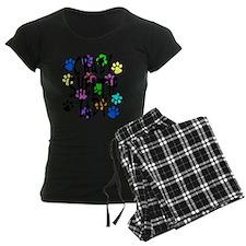 Crazy Sheltie Lady pajamas