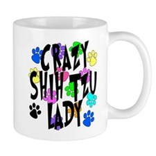 Crazy Shih Tzu Lady Mug