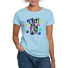 Crazy Pom Lady T-Shirt