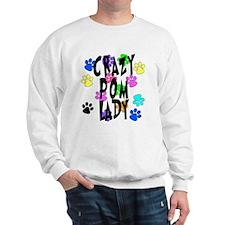 Crazy Pom Lady Sweatshirt