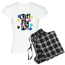 Crazy Pom Lady Pajamas