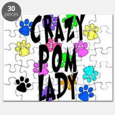 Crazy Pom Lady Puzzle