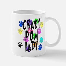 Crazy Pom Lady Mug