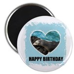 HAPPY BIRTHDAY SEAL Magnet
