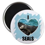 I LOVE SEALS Magnet