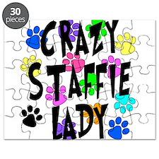 Crazy Staffie Lady Puzzle