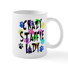 Crazy Staffie Lady Mug
