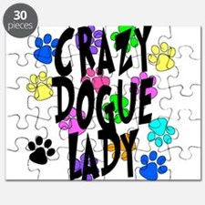 Crazy Dogue Lady Puzzle