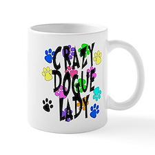 Crazy Dogue Lady Mug