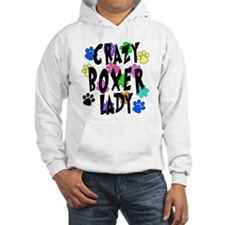 Crazy Boxer Lady Jumper Hoody
