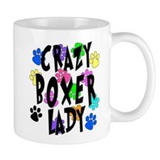 Crazy Boxer Lady Mug