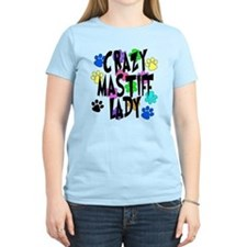 Crazy Mastiff Lady T-Shirt
