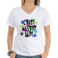 Crazy Mastiff Lady Shirt