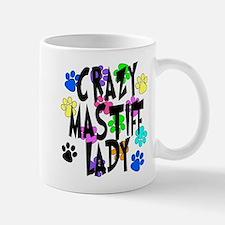 Crazy Mastiff Lady Mug