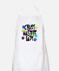 Crazy Mastiff Lady Apron