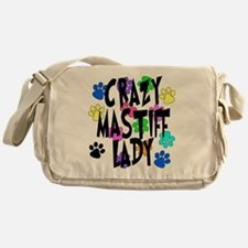 Crazy Mastiff Lady Messenger Bag