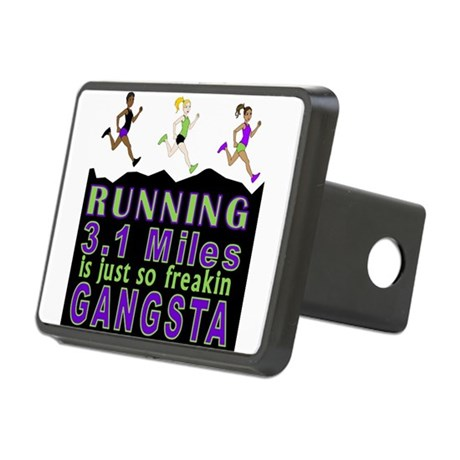 RUNNING IS SO GANGSTA 5K Hitch Cover