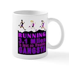 RUNNING IS SO GANGSTA 5K Mug