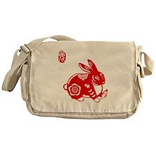Asian Rabbit - Messenger Bag