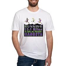 RUNNING IS SO GANGSTA HALF MARATHON T-Shirt