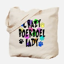 Crazy Boerboel Lady Tote Bag