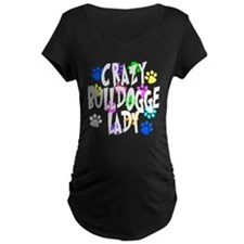 Crazy Bulldogge Lady T-Shirt