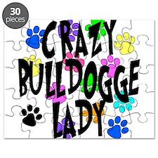Crazy Bulldogge Lady Puzzle