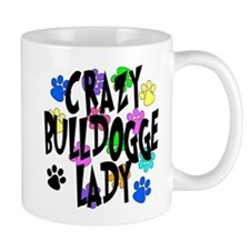 Crazy Bulldogge Lady Mug