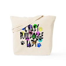 Crazy Bulldogge Lady Tote Bag